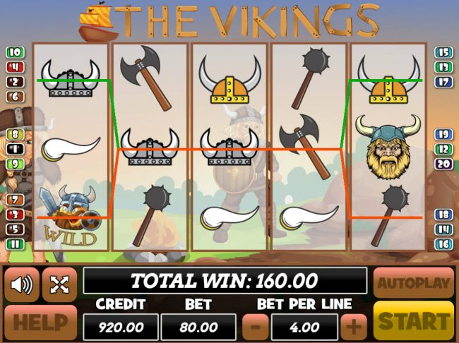 The Vikings screenshot