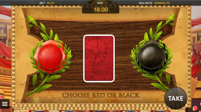 Gamble Feature - To gamble any win press Gamble then select Red or Black. - Casino Bonus Beater