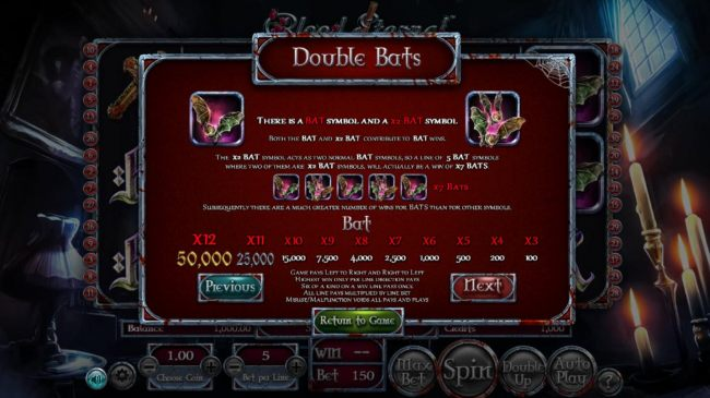Double Bats Rules - Casino Bonus Beater