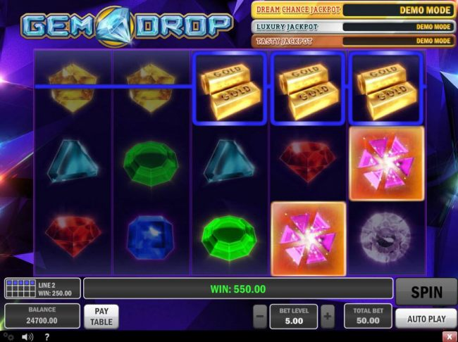 Casino Bonus Beater image of Gem Drop
