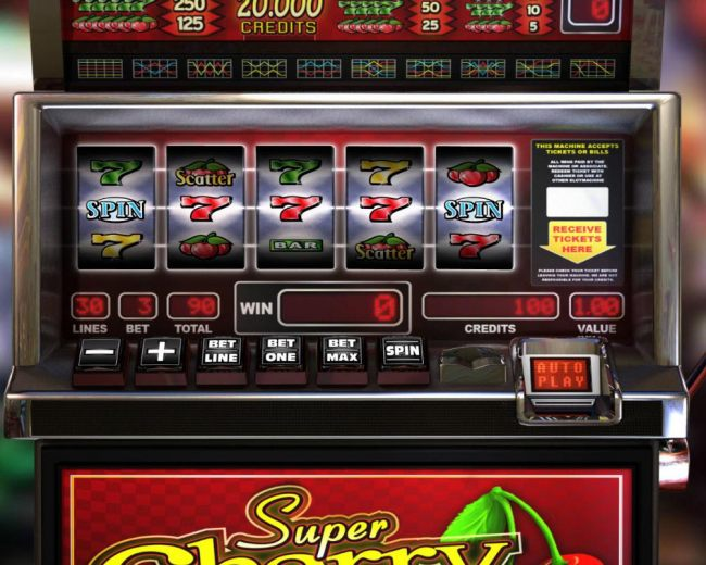 A close-up view of the reels and player interface screen. by Casino Bonus Beater