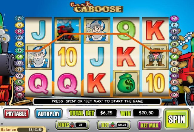 Cash Caboose by Casino Bonus Beater