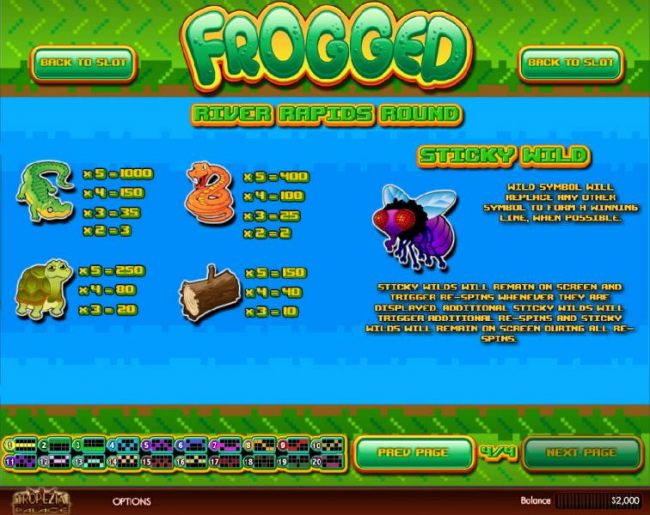 Frogged screenshot