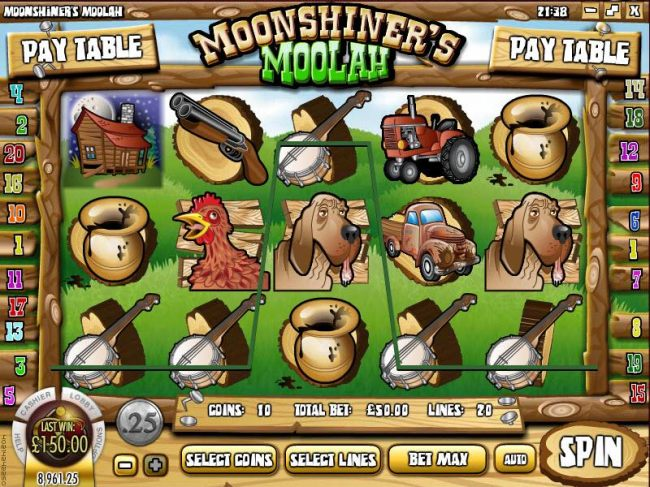 Images of Moonshiner's Moolah