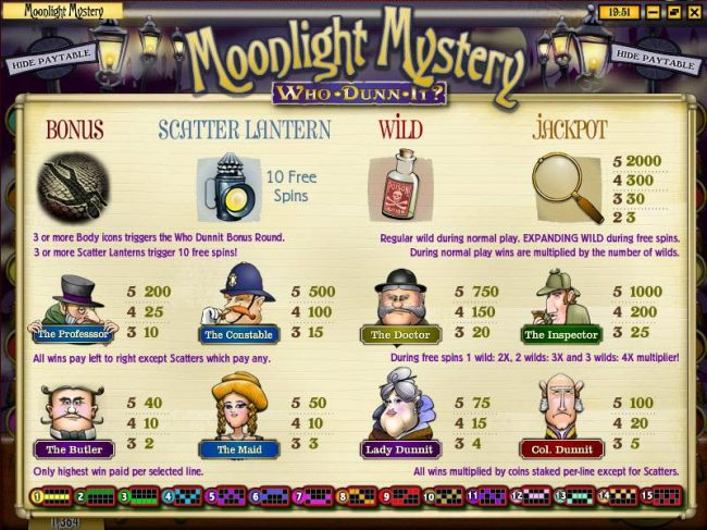 Casino Bonus Beater image of Moonlight Mystery