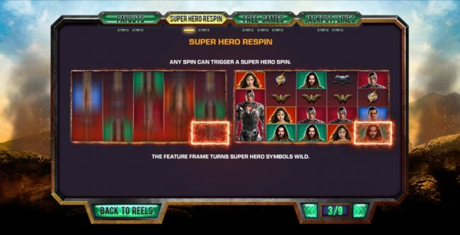 Super Hero Respin Rules