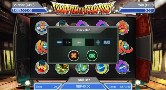 Casino Bonus Beater - The bet level can be easliy adjusted by clicking on the bet and using the plus or minus buttons to select an appropriate bet level that suits your playing style.