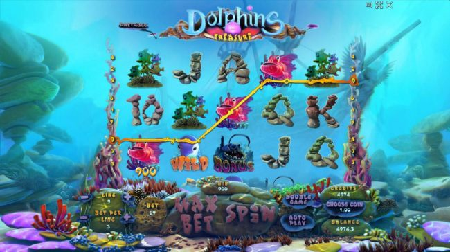 Images of Dolphins Treasure