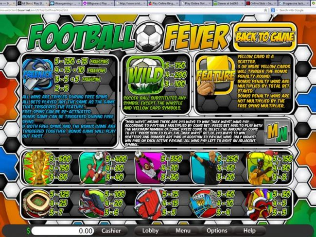 Football Fever by Casino Bonus Beater