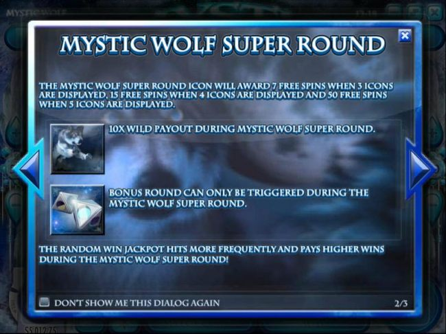 Mystic Wolf Super Round game rules