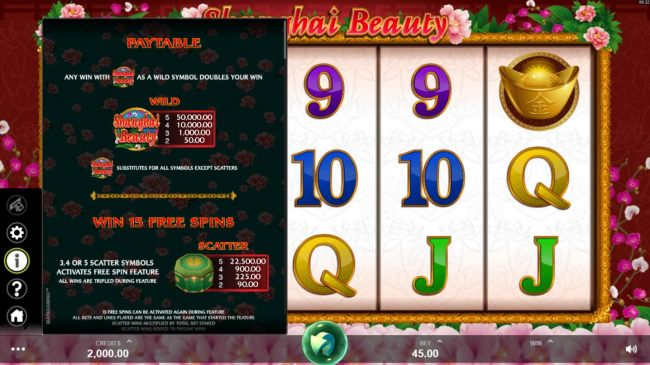 Wild and Scatter symbols paytable - Casino Bonus Beater