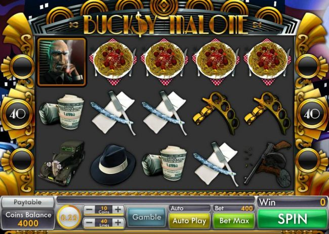 Main game board featuring five reels and 40 paylines with a $15,000 max payout. by Casino Bonus Beater