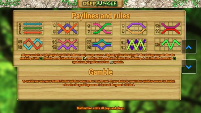 bet Lines, Rules and Gamble Rules