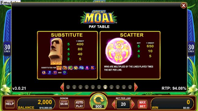 Great Moai by Casino Bonus Beater