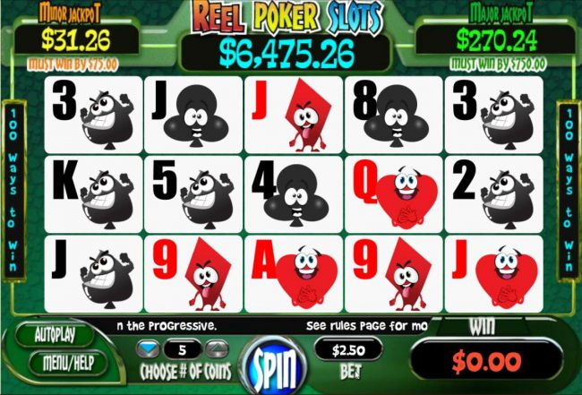 Images of Reel Poker