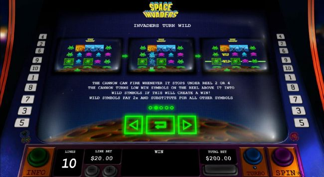 Space Invaders by Casino Bonus Beater