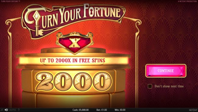 Turn Your Fortune screenshot