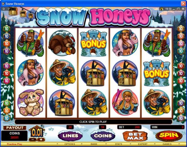 Casino Bonus Beater image of Snow Honeys