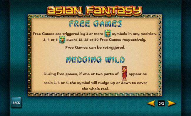 Asian Fantasy screenshot