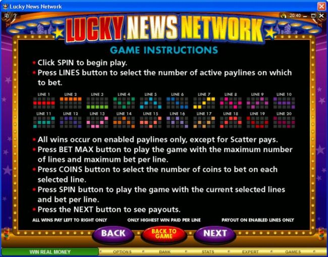 Images of Lucky News Network