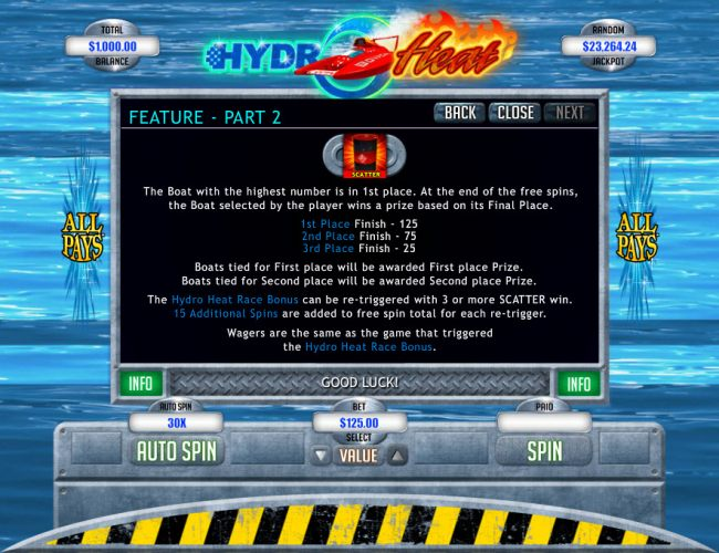 Hydro Heat screenshot