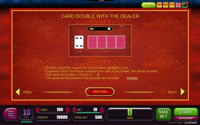 Card Double with the Dealer Rules - Casino Bonus Beater