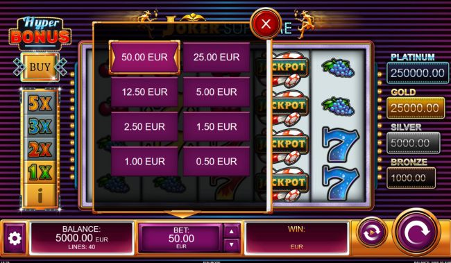 Available Bets by Casino Bonus Beater