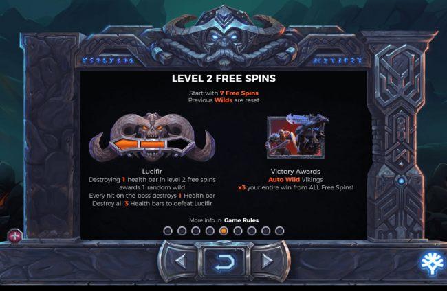 Level 2 Free Spins