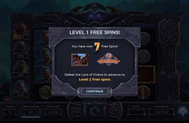 7 Free Games Awarded