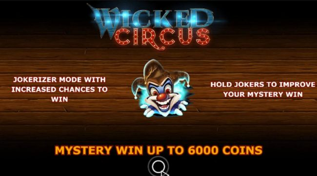 Wicked Circus by Casino Bonus Beater