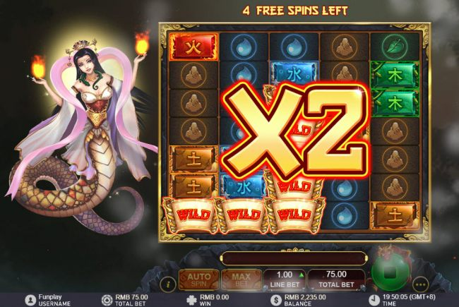 All wins are doubled during free games - Casino Bonus Beater