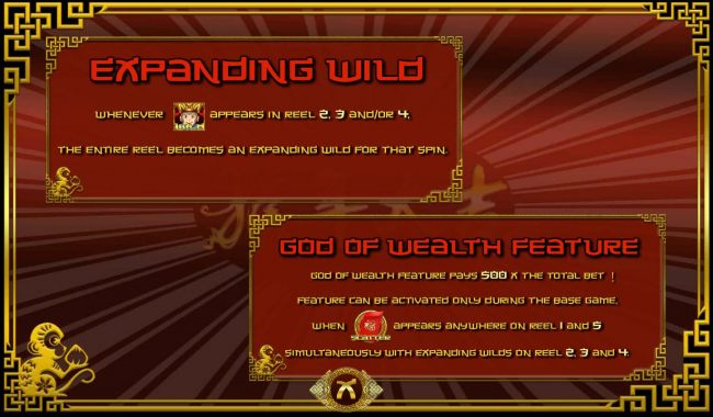 Expanding Wild and God of Wealth Feature Rules - Casino Bonus Beater