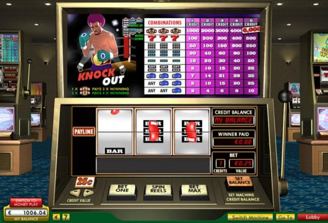 Knock out by Casino Bonus Beater