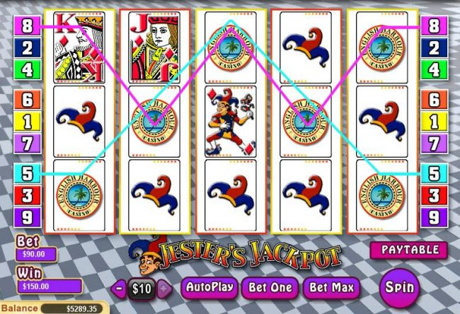 Images of Jester's Jackpot