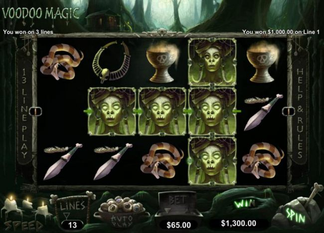 Images of Voodoo Magic