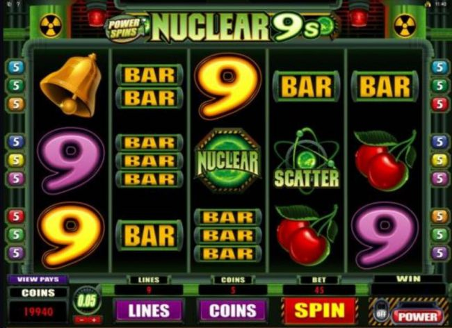 Power Spins - Nuclear 9's screenshot