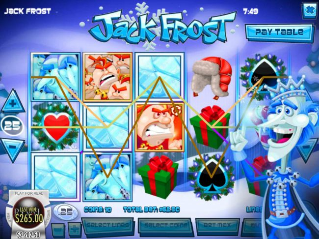 Jack Frost screenshot