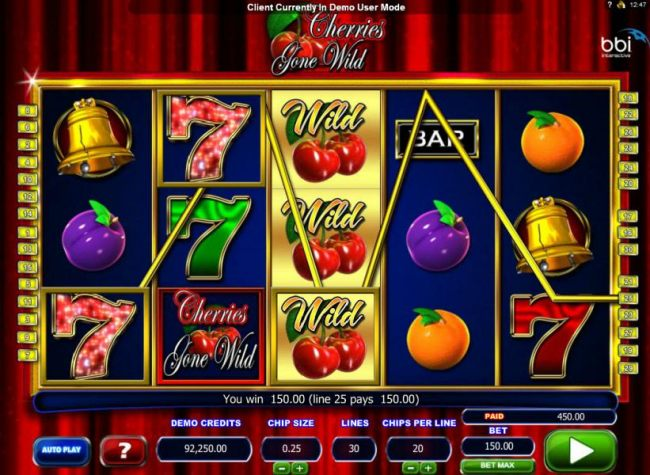 Casino Bonus Beater image of Cherries Gone Wild