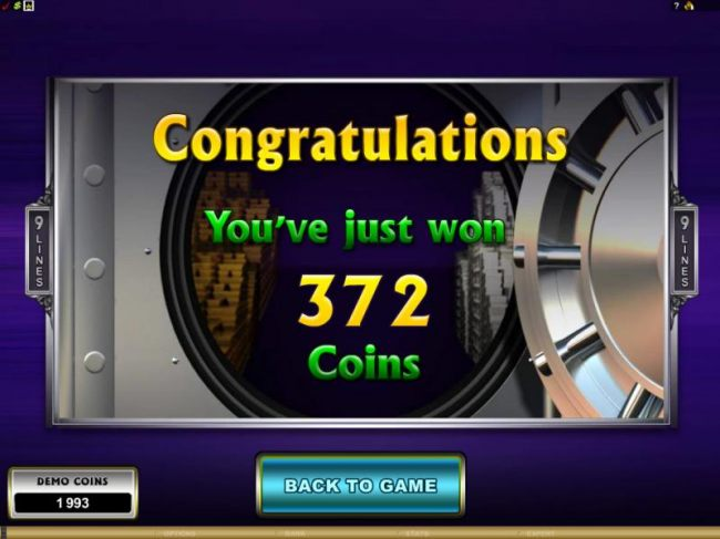 Casino Bonus Beater - not bad, the free spins feature paid out a 372 coin jackpot
