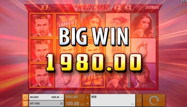 A 1980.00 big win triggered after several respins and wild multipliers. - Casino Bonus Beater