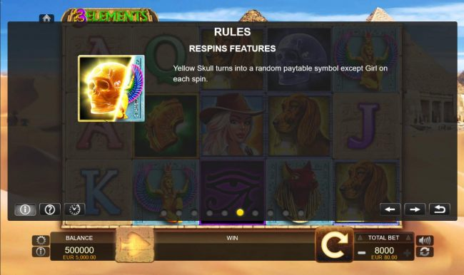 Casino Bonus Beater - Respins Features