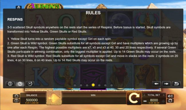 Casino Bonus Beater - Respins Rules
