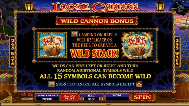 Casino Bonus Beater image of Loose Cannon