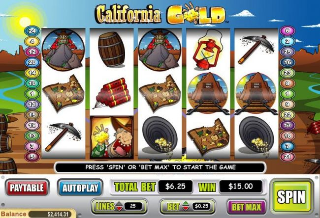 California Gold by Casino Bonus Beater