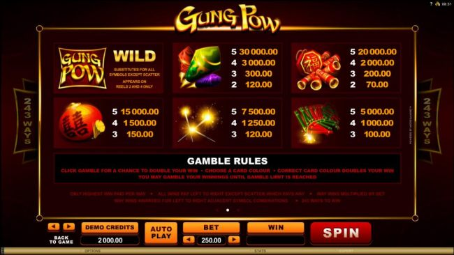 Images of Gung Pow