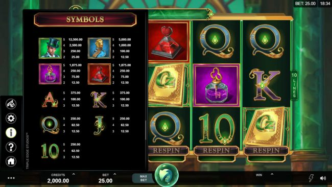 Book of Oz Respin Feature by Casino Bonus Beater