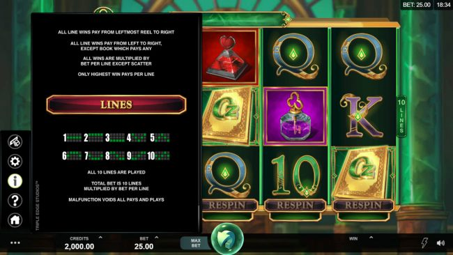 Casino Bonus Beater - Paylines 1-10