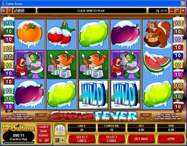 Casino Bonus Beater image of Cabin Fever