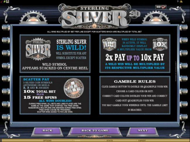 Casino Bonus Beater - wild pays, scatter pays gamble rules and multiplier rules