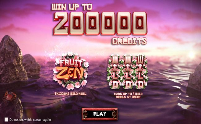 Casino Bonus Beater - Win Up To 200000 credits! Fruit Zen game logo triggers wild reel. Earn up to 3 wild reels at once!